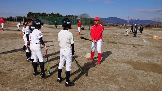 トヨタ自動車硬式野球部野球教室